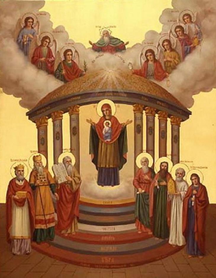 15 августа — Икона «София, премудрость Божия».