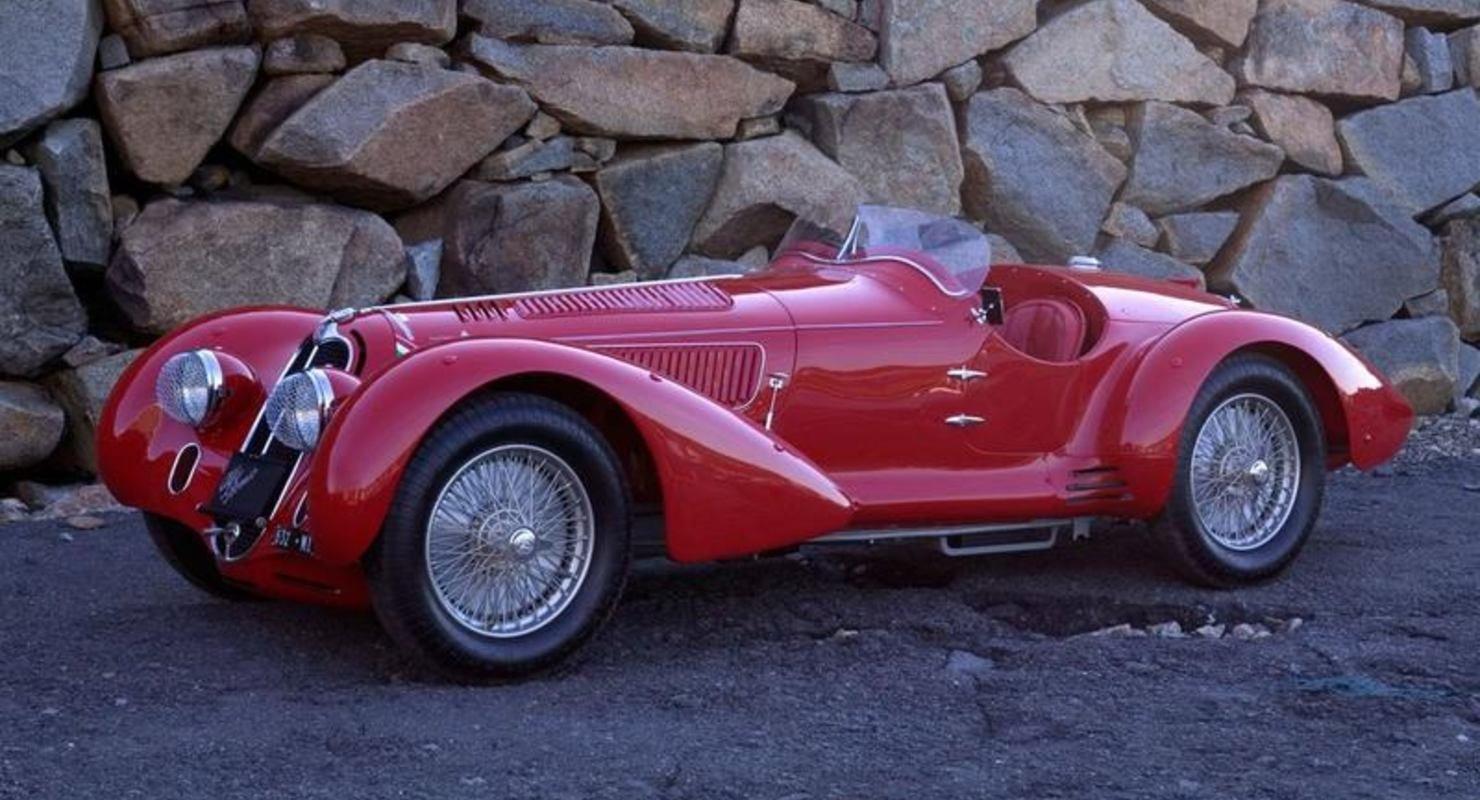 Alfa Romeo с индексом 8C 2900A&B: стиль как воплощение бессмертности Автоспорт