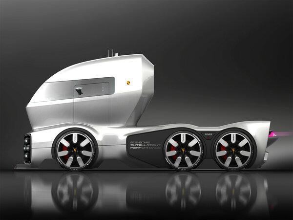 Дизайнер из Грузии создал проект автовоза Porsche porsche