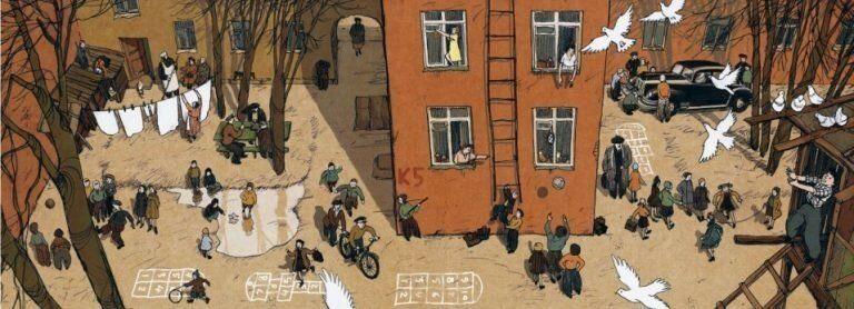 Атмосферные иллюстрации советского прошлого