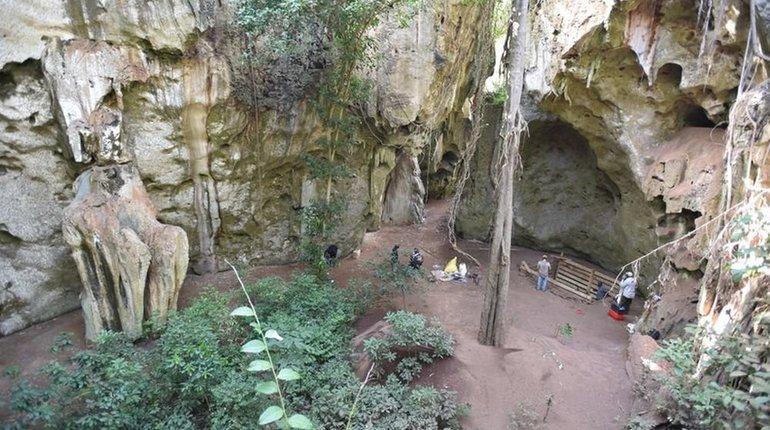 Древние люди не покидали пещеру 78 000 лет