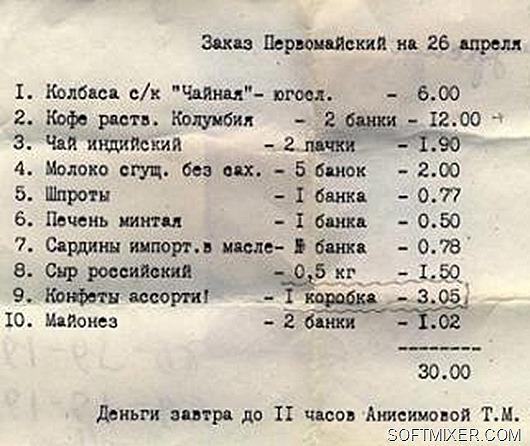советские цены фото
