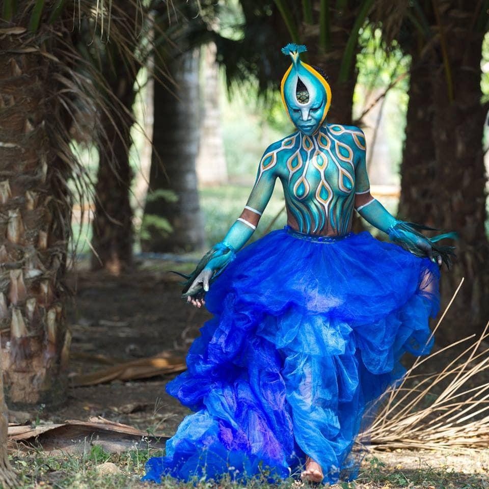 Фестиваль бодиарта в Экваториальной Гвинее 2019