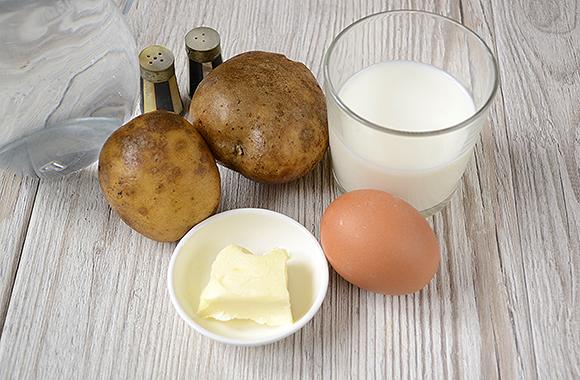 Готовим картофельное пюре с молоком правильной консистенции
