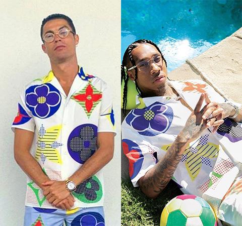 Модная битва: Криштиану Роналду против Tyga