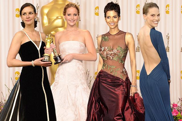 100 знаковых платьев в истории премии