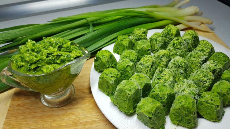 2 отличных способа заготовить зеленый лук: вкусно, ароматно, полезно заготовки