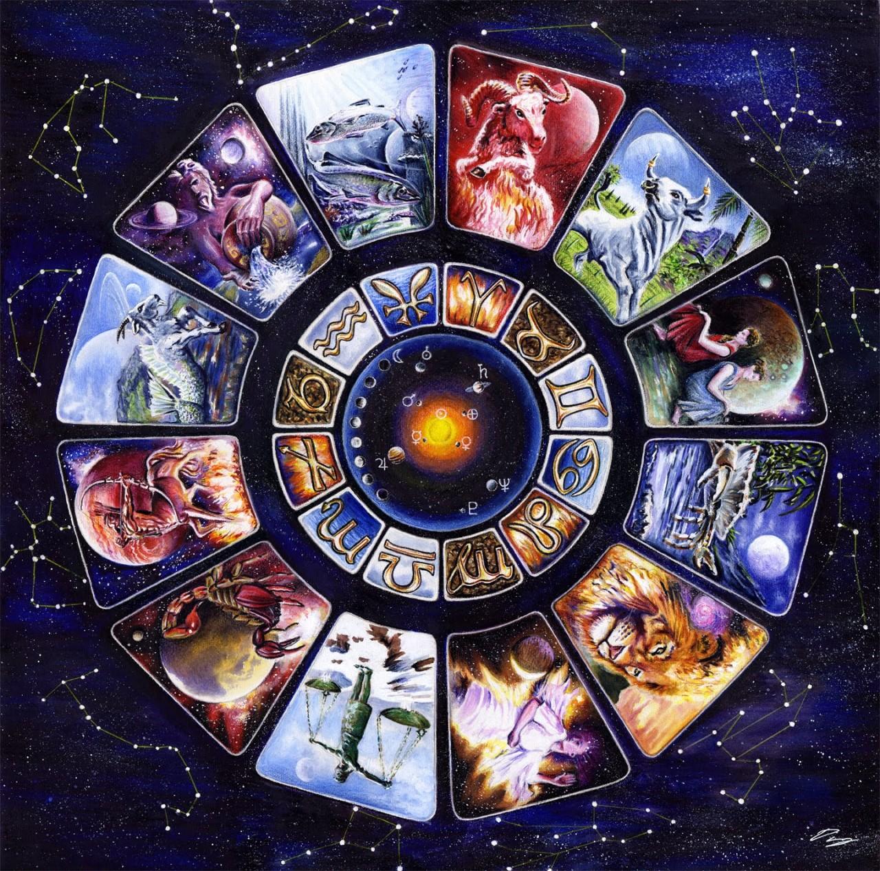картинки колдовских знаков зодиака меня