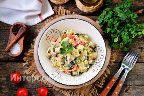 """салат """"Вкуснотища"""" готов"""