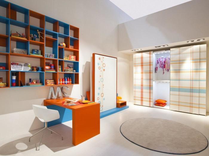 Эти цвета также подойдут для декорирования детской комнаты.
