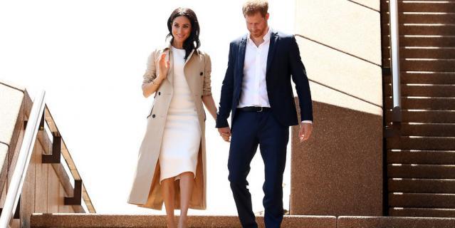 Наконец-то в белом! Платье Меган Маркл в Австралии вызвало восхищение