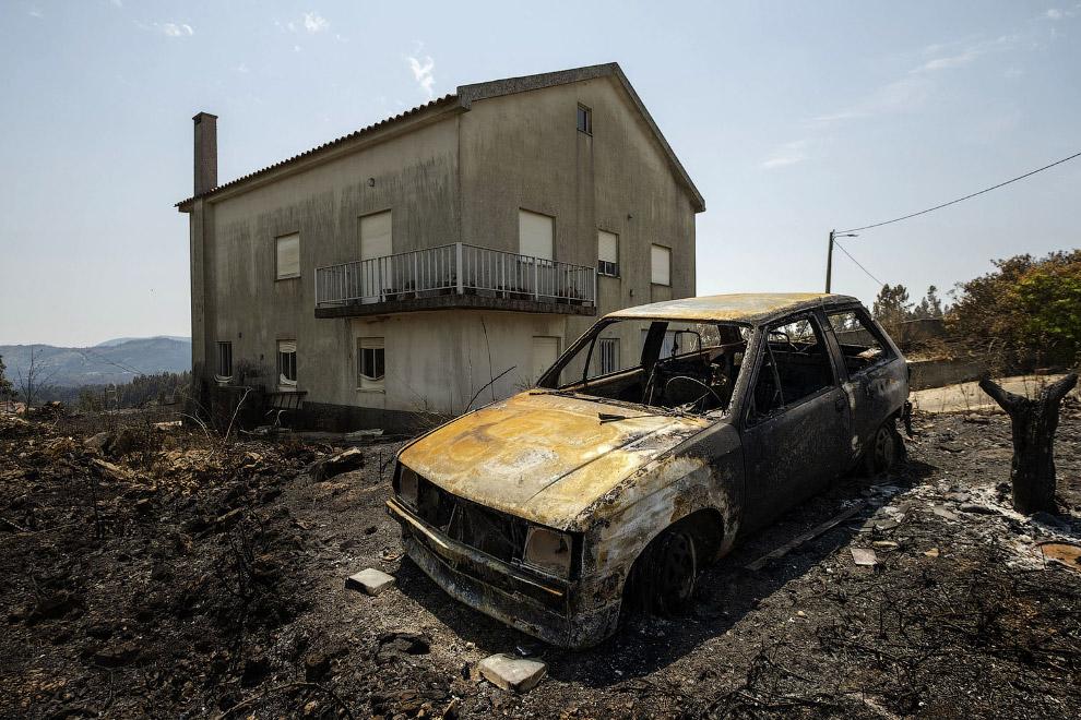 Как в Португалии тушат пожары