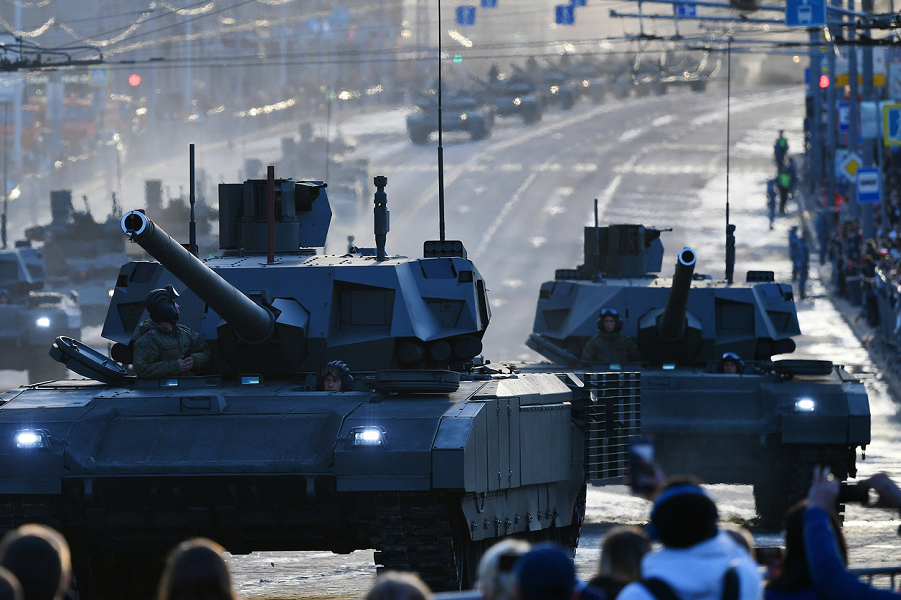 Подготовка к Параду 9 мая, Москва, 2019.png