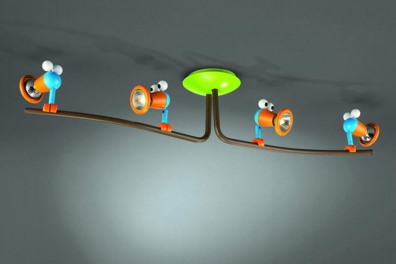 Светильники и освещение в детской комнате