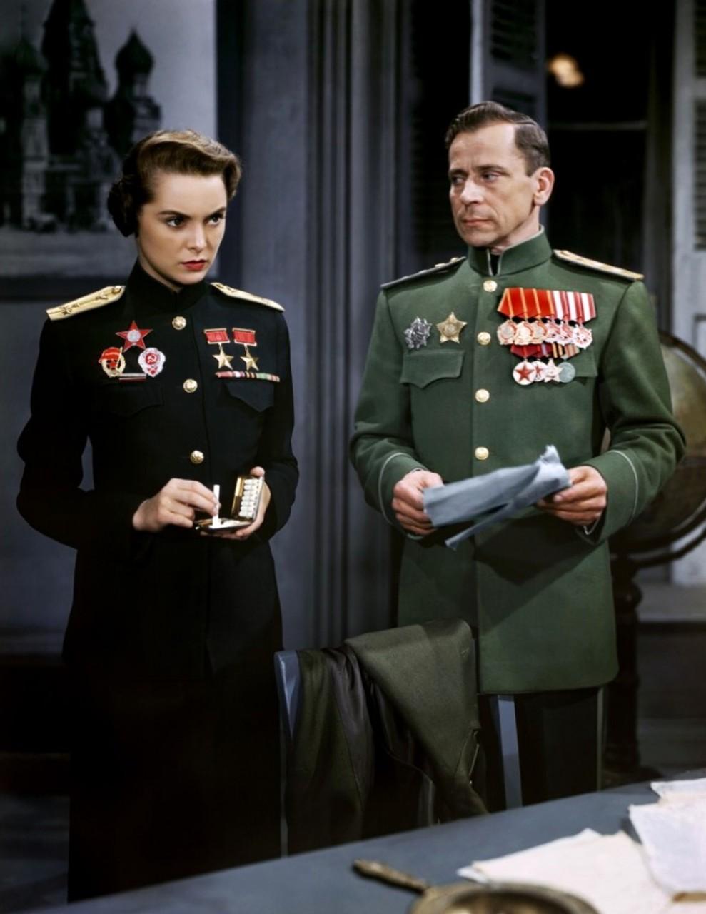 Советский офицер в Голливуде…