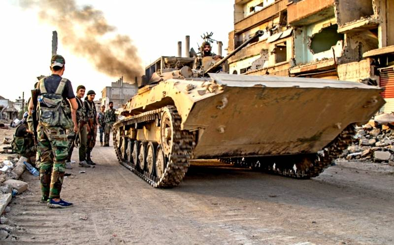Сирийская армия прорвала обо…