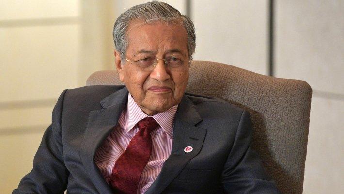 Премьер-министр Малайзии Махатхир Мохамад