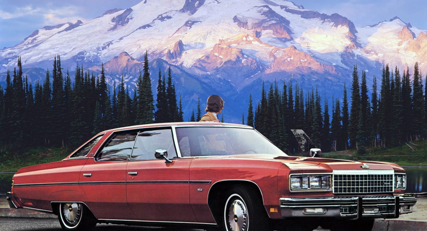 Полноразмерная Америка: модель Chevrolet Caprice Автомобили