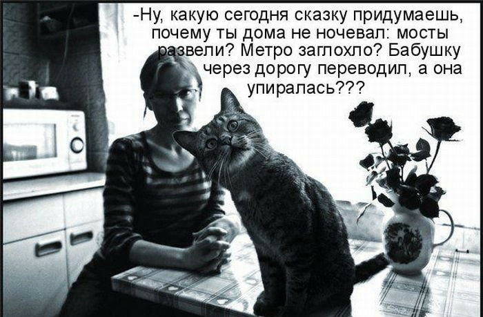 - С тобой я не высыпаюсь. Ко…