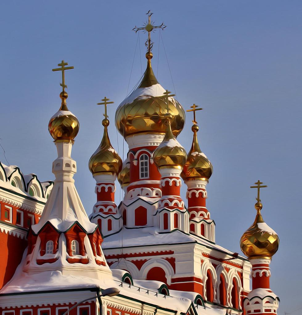 Написанием текста, картинки с куполами церквей
