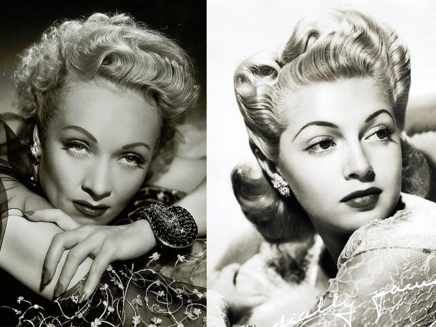 Мода и история прически 1940-х годов