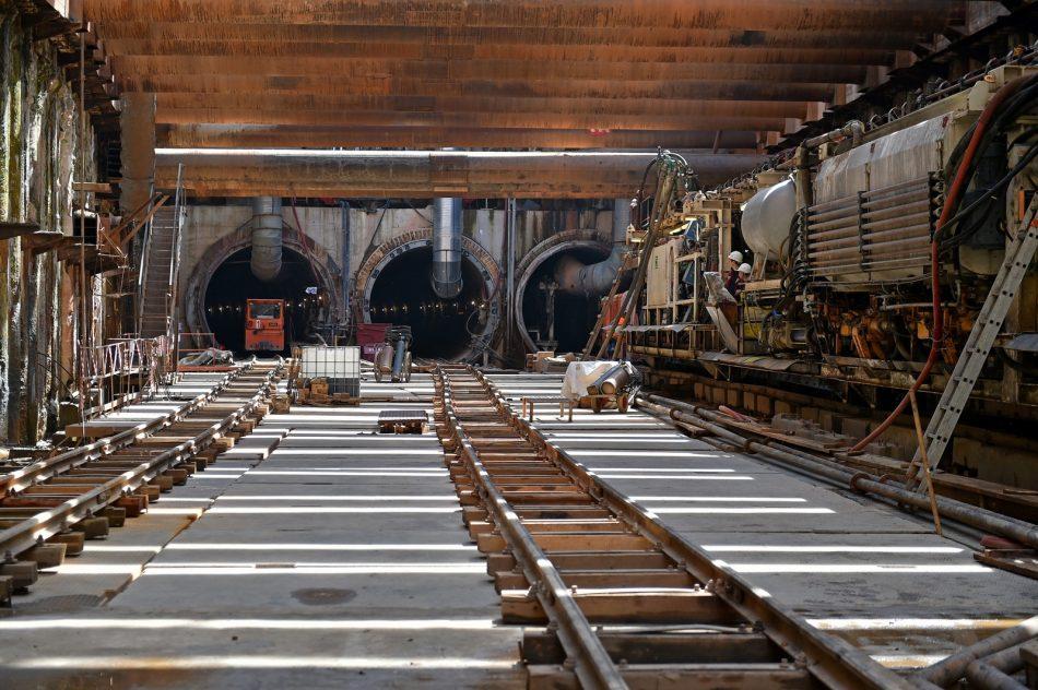 Началась прокладка тоннеля между «Шереметьевской» и «Ржевской»
