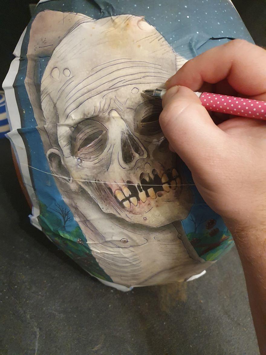 Как вырезать крутую тыкву к Хэллоуину своими руками вдохновляемся,поделки