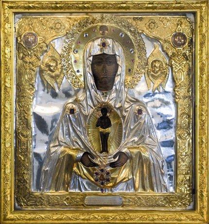 икона Богородицы « АЛБАЗИНСКАЯ » – «СЛОВО ПЛОТЬ БЫСТЬ»