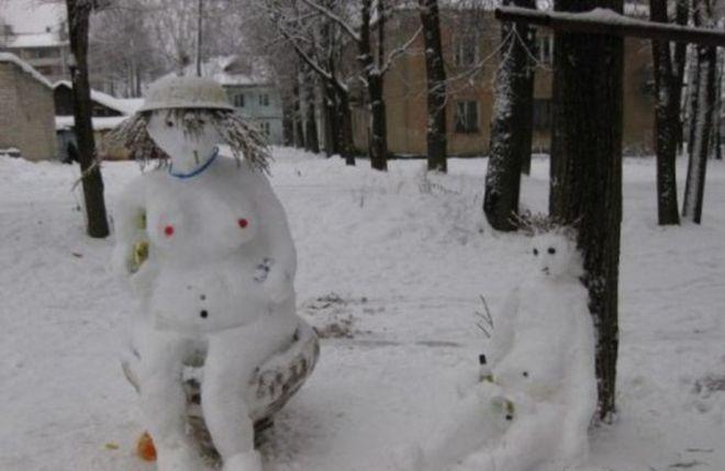 гулять зимой с детьми