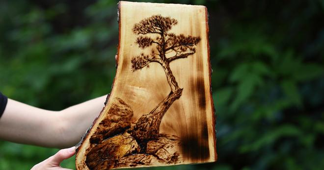 Выжигание по дереву – что это такое, история возникновения, существующие виды, что нужно для выжигания выжигание по дереву,дерево