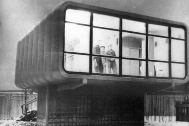 Пластмассовый дом: неожиданный поворот хрущевской архитектуры