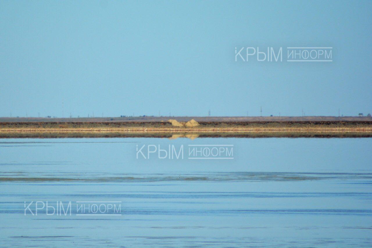 С украинской стороны разрушена дамба кислотонакопителя «Крымского титана»