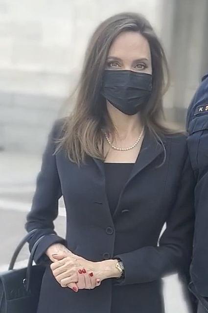 Анджелина Джоли прилетела с визитом в Вашингтон Новости