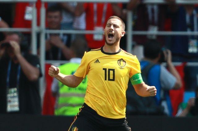 Лучшим игроком матча ЧМ Бельгия-Тунис стал Эден Азар