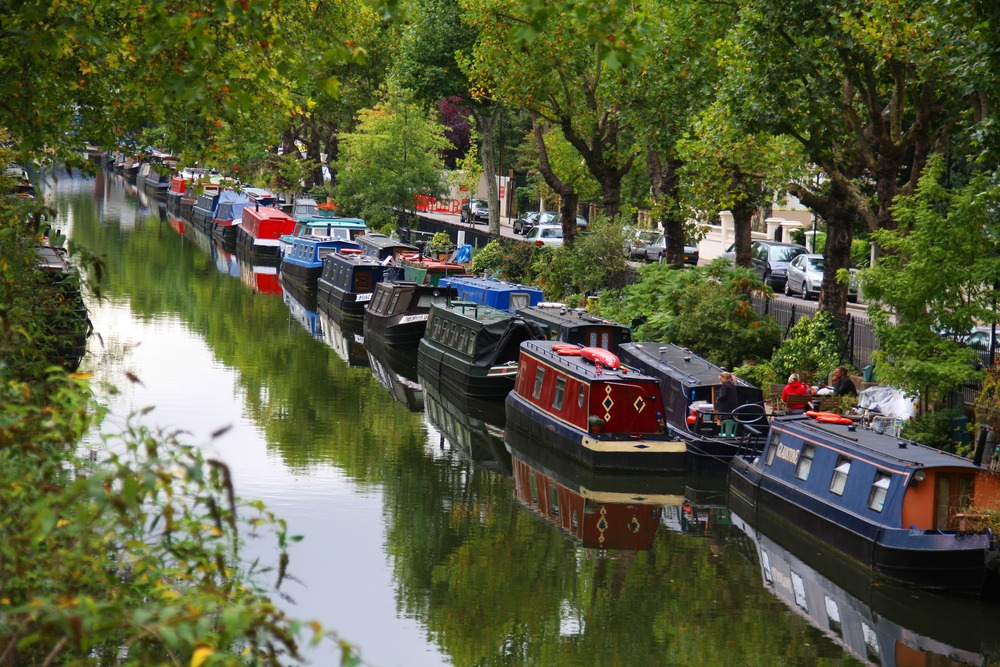 Лондонская недвижимость на плаву- маленькая Венеция