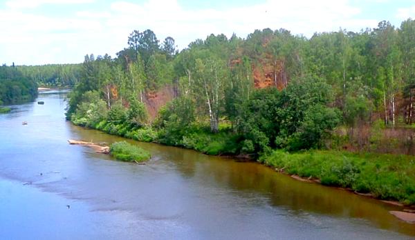 Странная встреча на берегу реки
