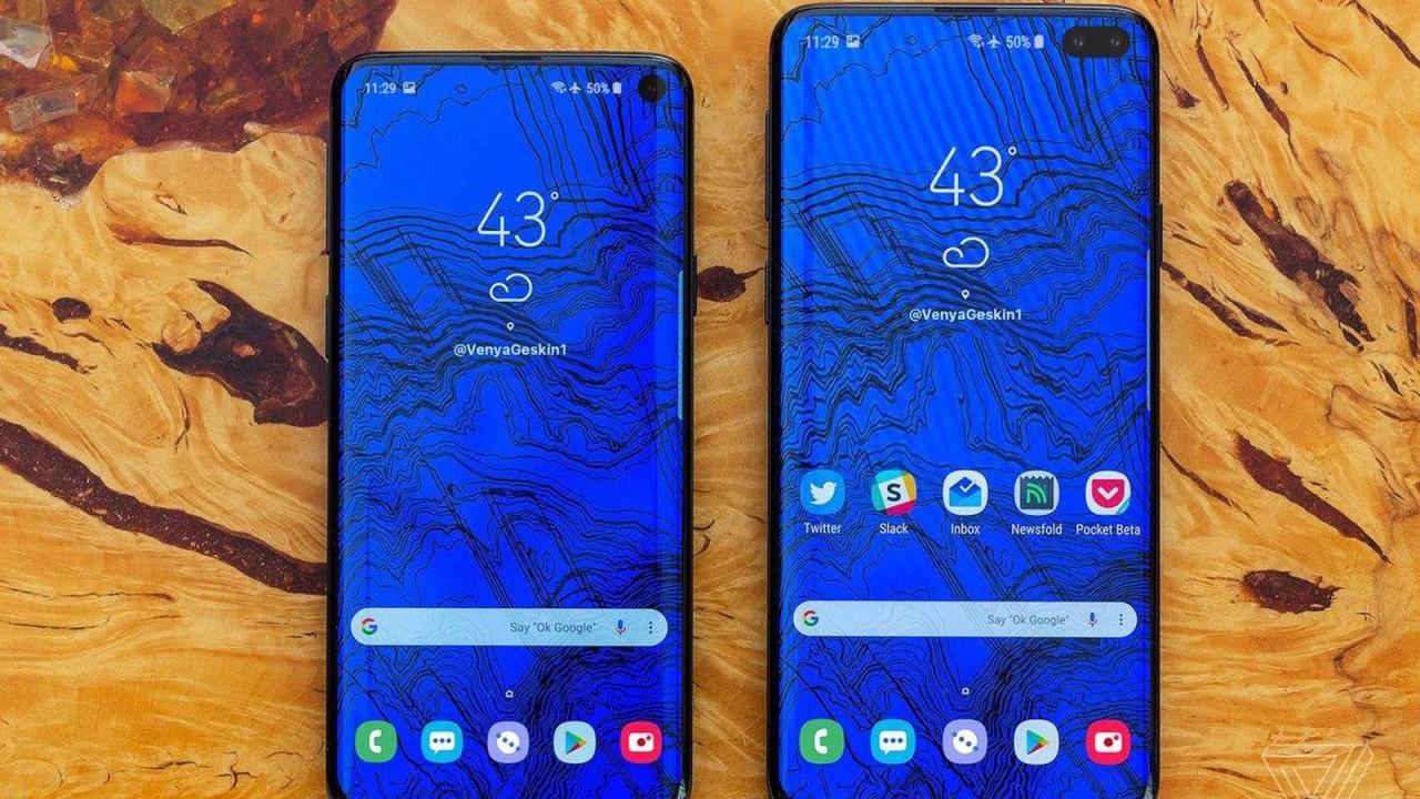 В Samsung Galaxy S10 дисплей будет больше, чем в Note 9
