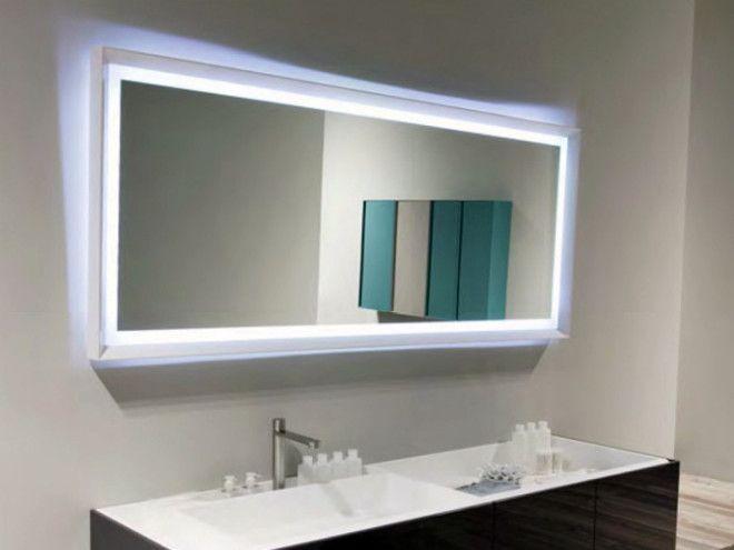 Зеркало с подсветкой и подогревом