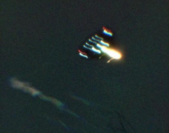 Сенсационное видео контакта НЛО и американских ВВС