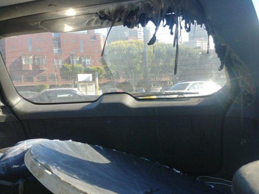 Если оставить в авто зеркало летом