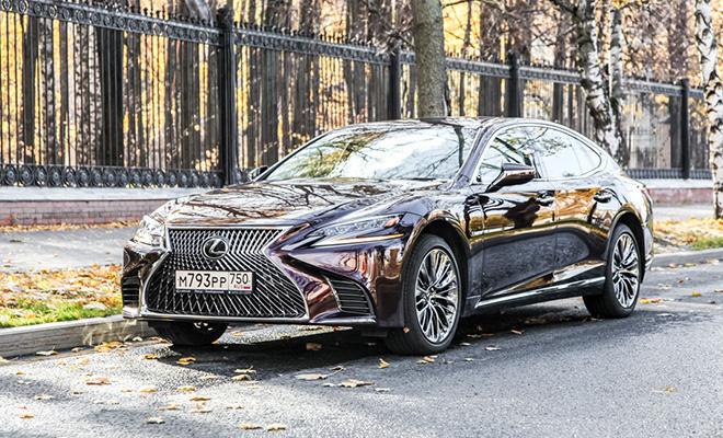 Тест-драйв: Lexus LS 500