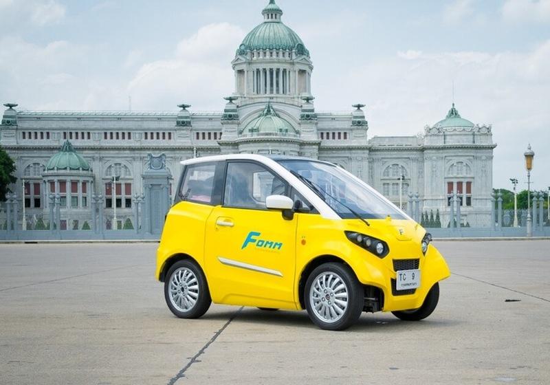 Бывший сотрудник Toyota разработал плавающий электромобиль автомобили,водители,дороги,ремонт автомобилей