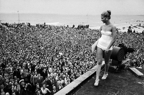 1956. Выборы первой королевы красоты в Польше знаменитости, исторические фотографии, история, редкие фотографии, фото