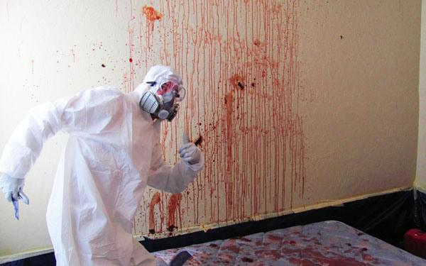 Будни уборщика помещений после убийств