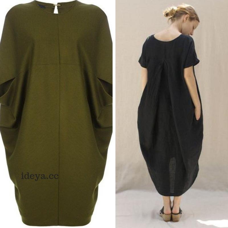 Как сшить платье-кокон: выкройка от «Гуччи»