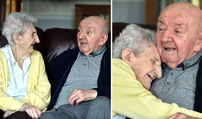 98-летняя мама специально пе…