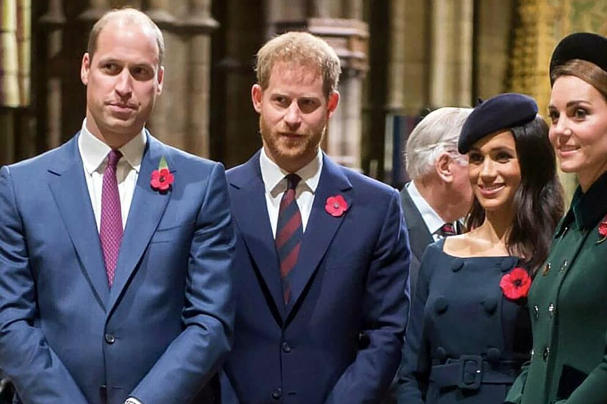 Враждующие принцы Гарри и Уильям решили помириться