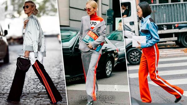 Как носить брюки с лампасами и не выглядеть старомодно: 7 ярких примеров