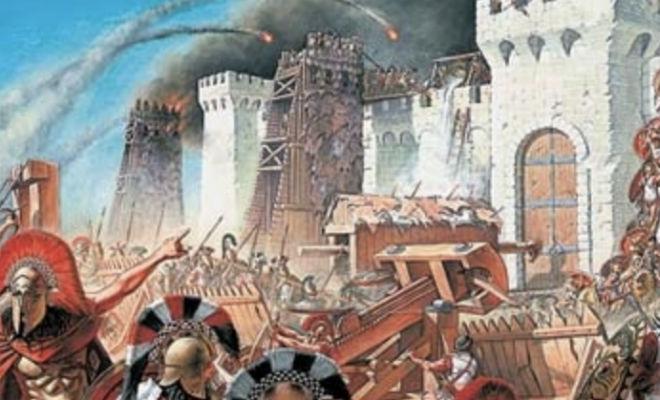 Тактики захвата городов в древности