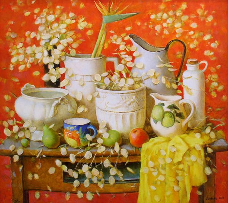 Прелесной юности полна... живопись
